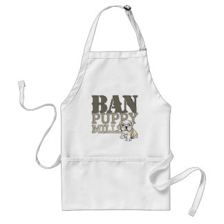 Ban Puppy Mills Adult Apron