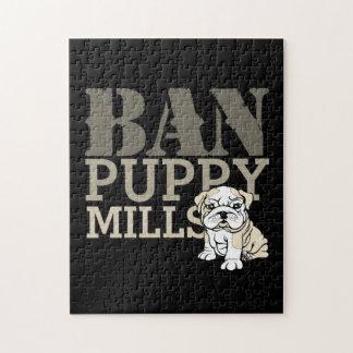 Ban Puppy Mills Puzzle