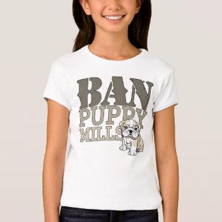 Ban Puppy Mills T-shirts