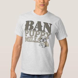 Ban Puppy Mills Tees