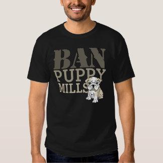 Ban Puppy Mills Tshirts