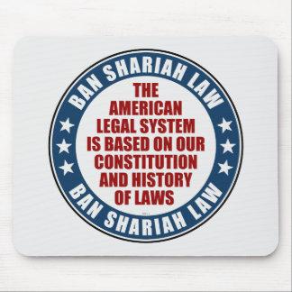 Ban Shariah Law Mouse Pad
