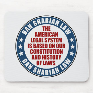 Ban Shariah Law Mouse Pads
