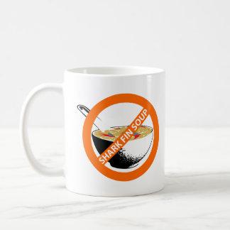 BAN SHARK FIN SOUP COFFEE MUG