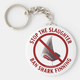 Ban Shark Finning Keychain