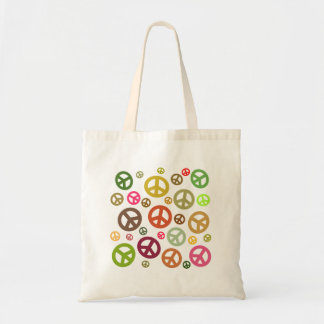 Ban the Bomb Peace Symbol Tote Bag