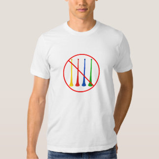Ban the Vuvuzela 2014 World Cup Soccer T Shirt