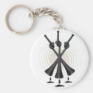 Ban The Vuvuzela Basic Round Button Key Ring