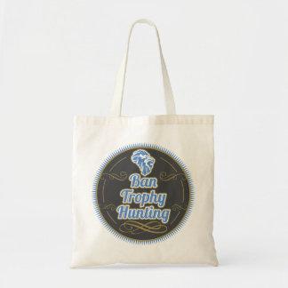 Ban Trophy Hunting Tote Bag