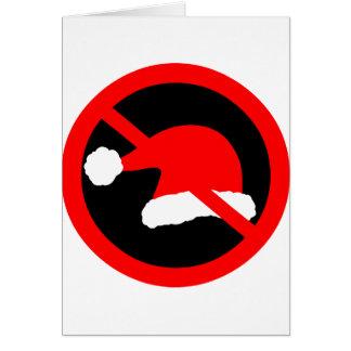 Ban Xmas Greeting Card