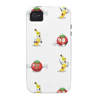 banana and tomato iPhone 4/4S case