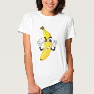 banana angry smiley shirt