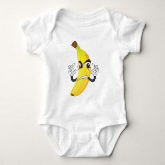 banana angry smiley tees