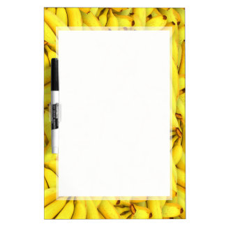 BANANA BACKGROUND DRYERASEBOARD, BANANA  BOARD