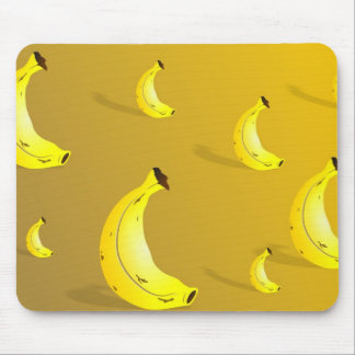 Banana Background Mouse Mat