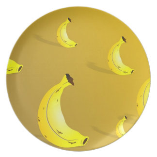 Banana Background Plate
