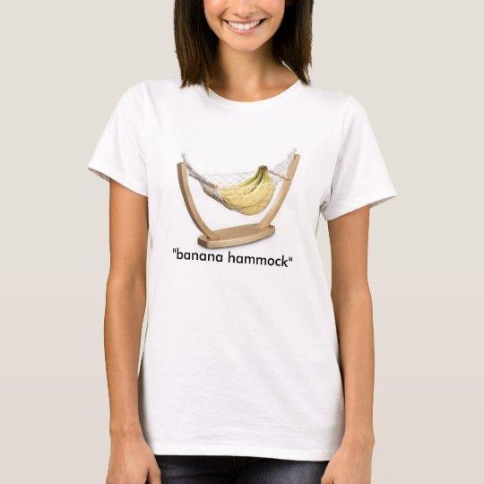 """banana, """"banana hammock"""" T-Shirt"""