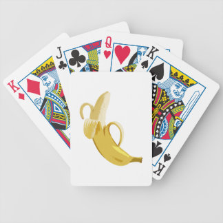 Banana Bicycle Playing Cards