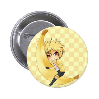 Banana Boy chibi 6 Cm Round Badge