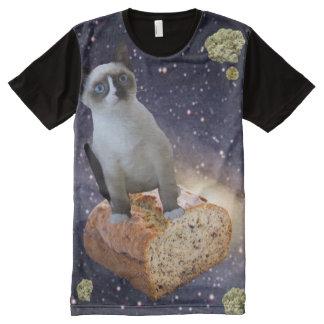 banana bread kat All-Over print T-Shirt