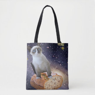 banana bread kat tote bag