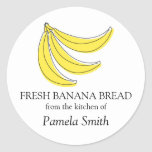 Banana Bread Labels, From the Kitchen Of... Round Sticker