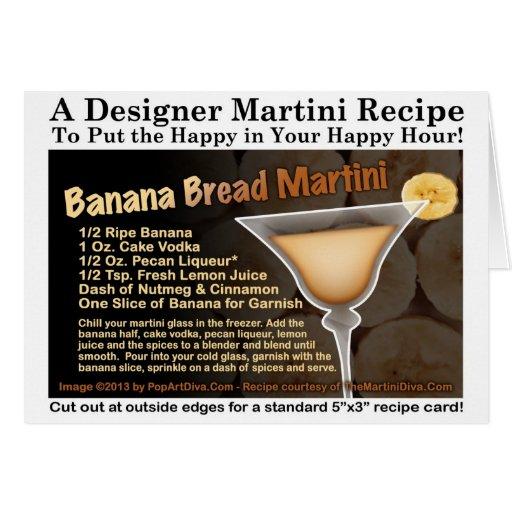 banana bread recipe card - photo #13