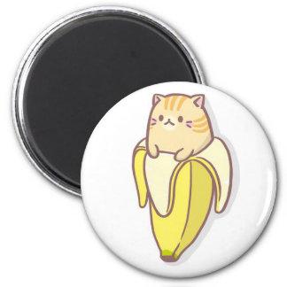 Banana cat magnet