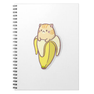 Banana cat notebook