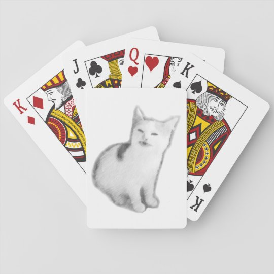 Banana Cat playing cards