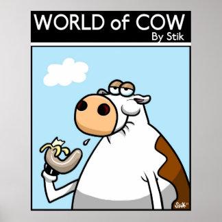 Banana Cow Poster