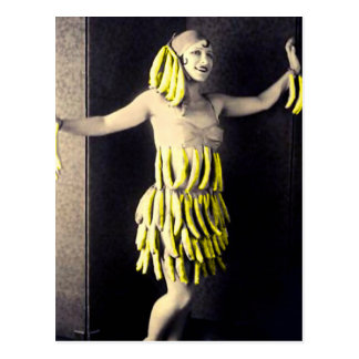Banana Dress Postcard