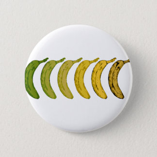 Banana Evolution 6 Cm Round Badge
