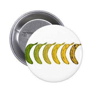 Banana Evolution 6 Cm Round Badge