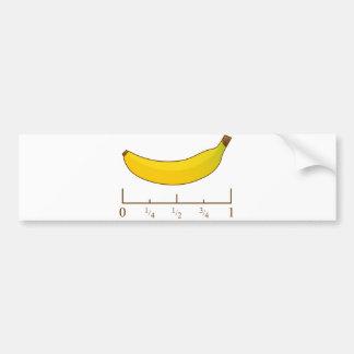 Banana For Scale Bumper Sticker