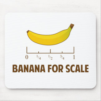 Banana For Scale Mouse Mat