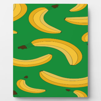 Banana fruit pattern plaque