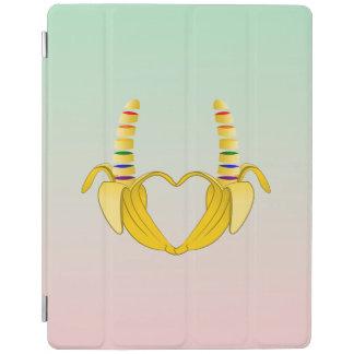 Banana Gay Pride Freedom Heart iPad Cover