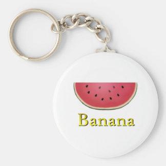 Banana Key Ring