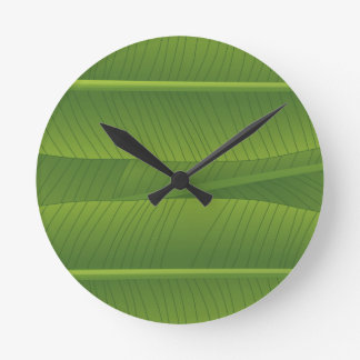banana leaf clock