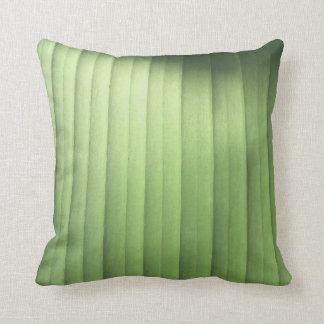 Banana Leaf Closeup Throw Pillow