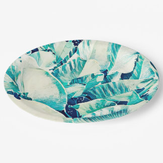 Banana Leaf Crush Paper Plates