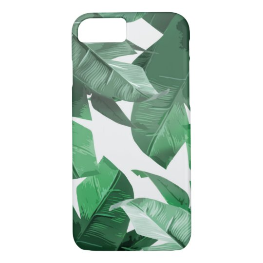 Banana Leaf iPhone 7 Case, Barely There iPhone