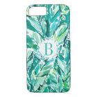 BANANA LEAF JUNGLE Green Tropical iPhone 8/7 Case