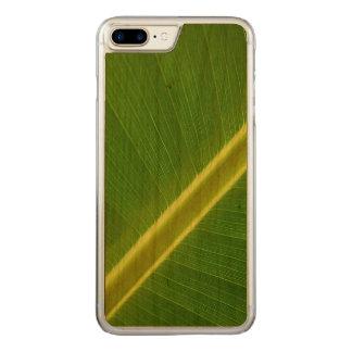 Banana Leaf Macro Carved iPhone 8 Plus/7 Plus Case