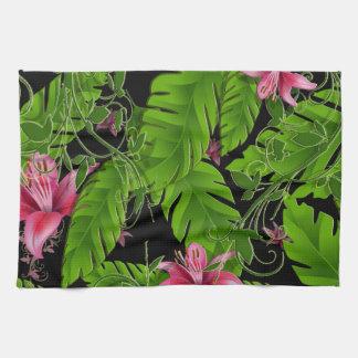 Banana Leaf Tropical Home Decor Hand Towel