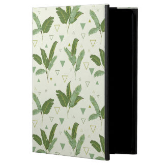 Banana Leaf With Triangles iPad Air Case