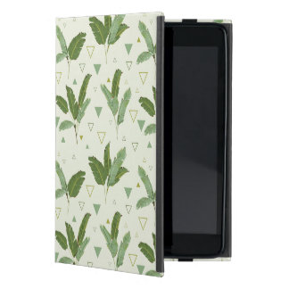 Banana Leaf With Triangles iPad Mini Cover