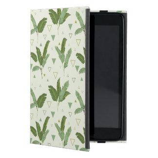Banana Leaf With Triangles iPad Mini Covers