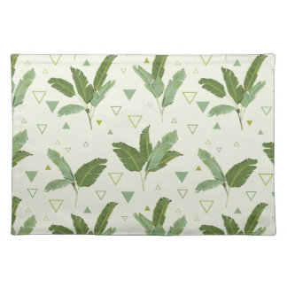 Banana Leaf With Triangles Placemat